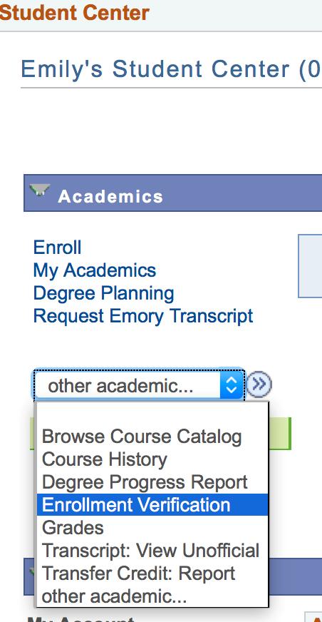 Enrollment And Degree Verification Emory University Atlanta Ga